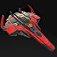 Spaceship Fighter - 3DOcean Item for Sale