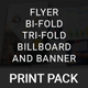 Print Pack - Flyer and Brochure - GraphicRiver Item for Sale