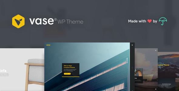 Vase – Premium WP Theme