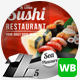 Sushi Food & Restaurant Web & Facebook Campaign - GraphicRiver Item for Sale