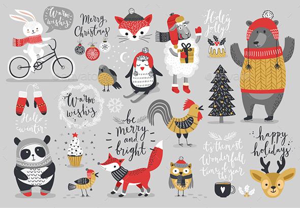 Christmas Card Set - Christmas Seasons/Holidays