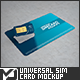 Universal Sim Card Mock-Up