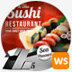 Sushi Food & Restaurant Web Sliders - GraphicRiver Item for Sale