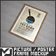 Picture / Poster Frame Mock-Up - GraphicRiver Item for Sale