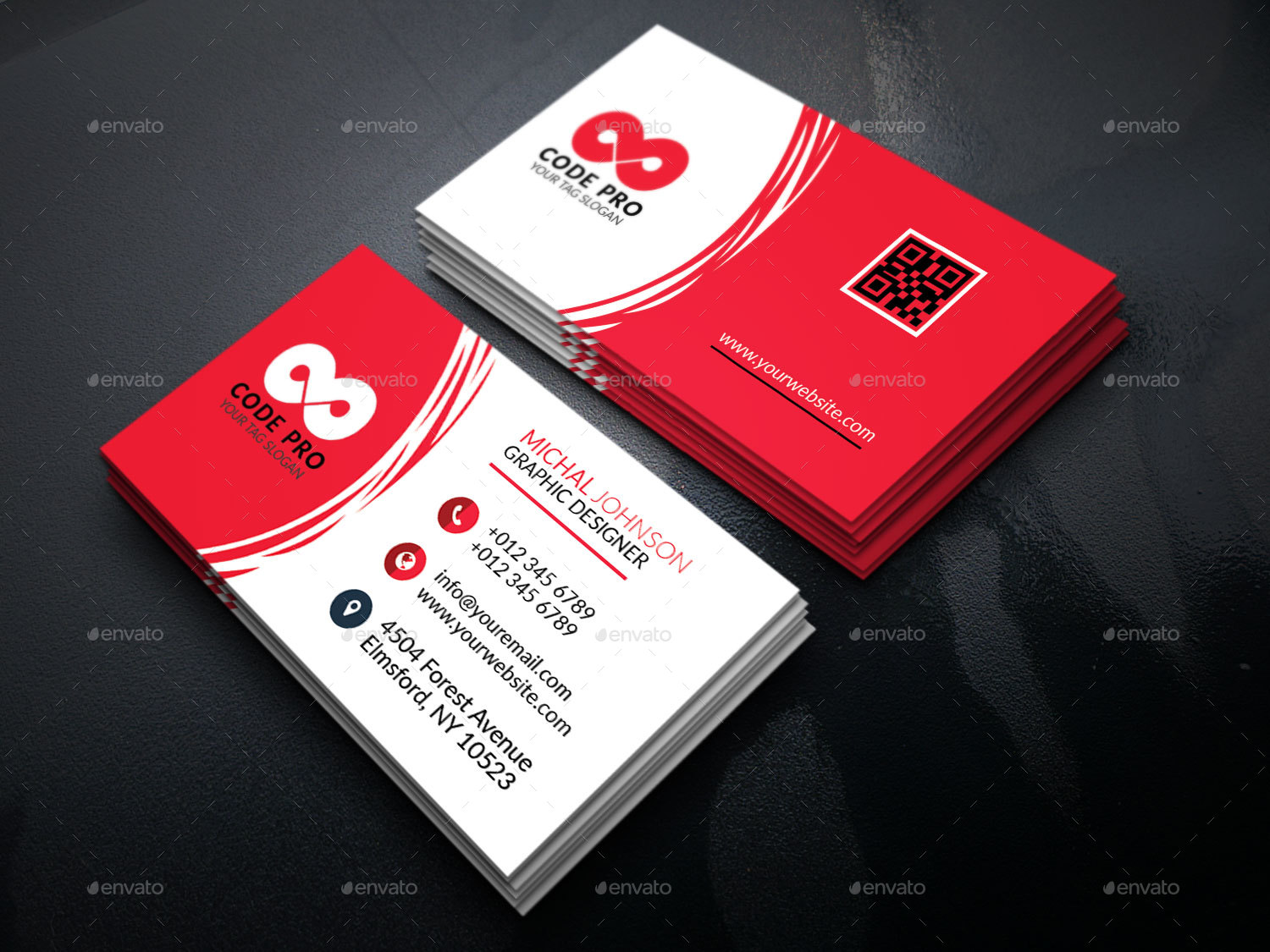 Creative corporate business card by designzeal graphicriver creative corporate business card business cards print templates preview image set01previewg preview image set02previewg preview image reheart Choice Image