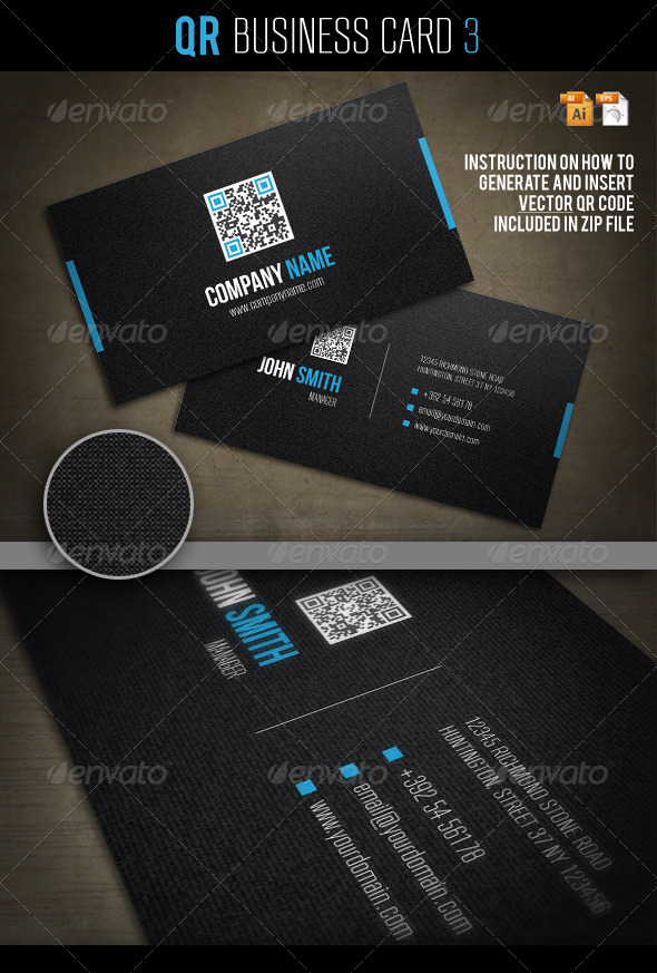 QR Business Card 3