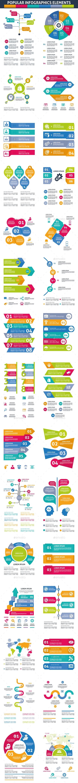 Popular Infographics Elements - Infographics