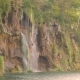 Waterfall on the Rock in the Lake - VideoHive Item for Sale