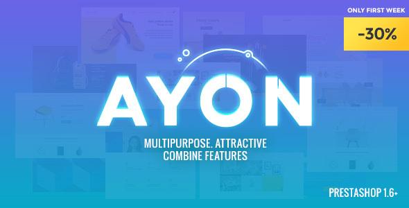 AYON – Multipurpose Responsive Prestashop Theme