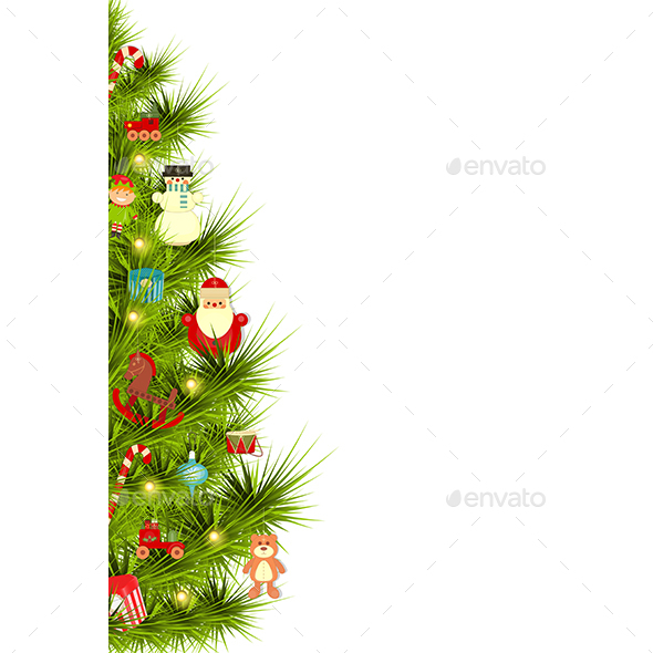 Decorated Christmas Tree - Christmas Seasons/Holidays