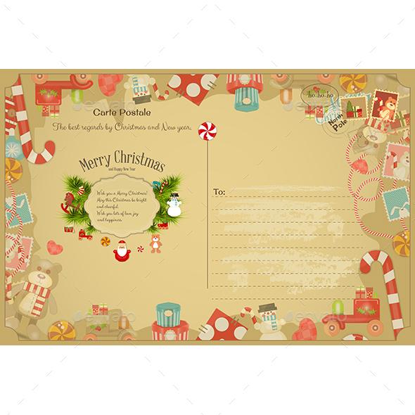 Christmas  Postcard - Christmas Seasons/Holidays