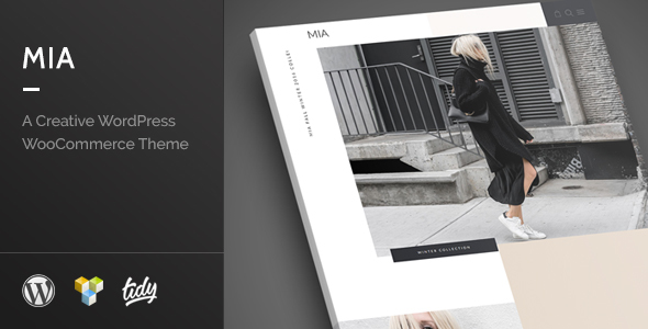 Mia – Creative Fashion WordPress WooCommerce Theme