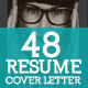 48 Resume and Cover Letter - GraphicRiver Item for Sale