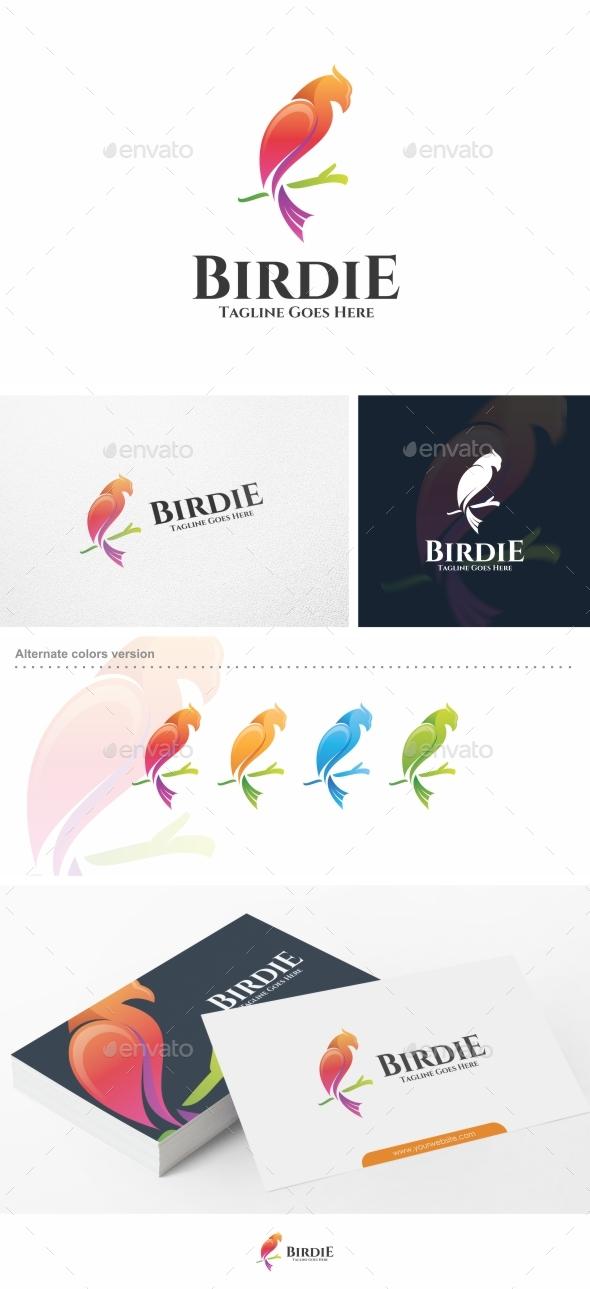 Birdie / Bird - Logo Template - Animals Logo Templates