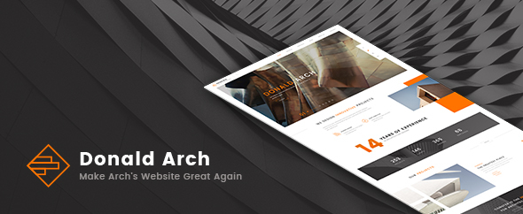 Donald Arch - Creative Architecture WordPress Theme - Creative WordPress