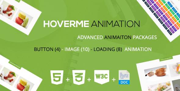 HoverMe - A CSS3 Animation Packages - CodeCanyon Item for Sale