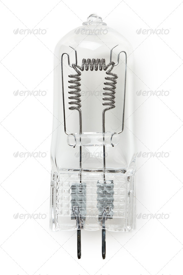 halogen bulb - Stock Photo - Images