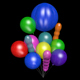 Helium Balloons - 3DOcean Item for Sale
