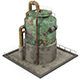 Rusty Industrial Tank - 3DOcean Item for Sale