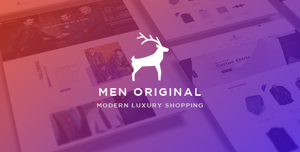 Ap Men Original – eCommerce PSD Template