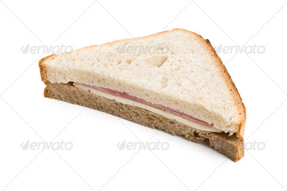 ham sandwich - Stock Photo - Images