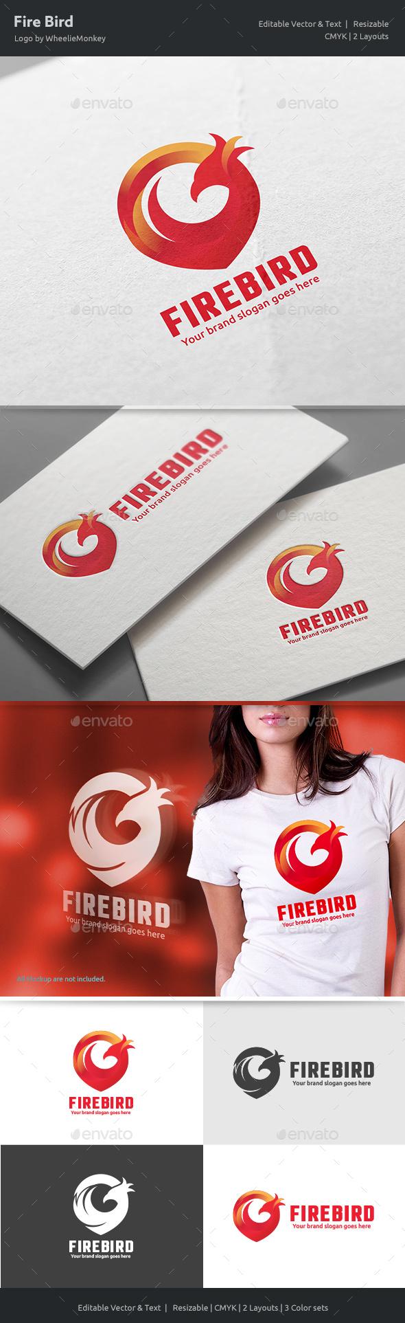 Fire Bird Logo V3