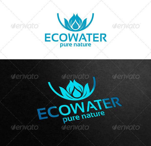Ecowater - Symbols Logo Templates
