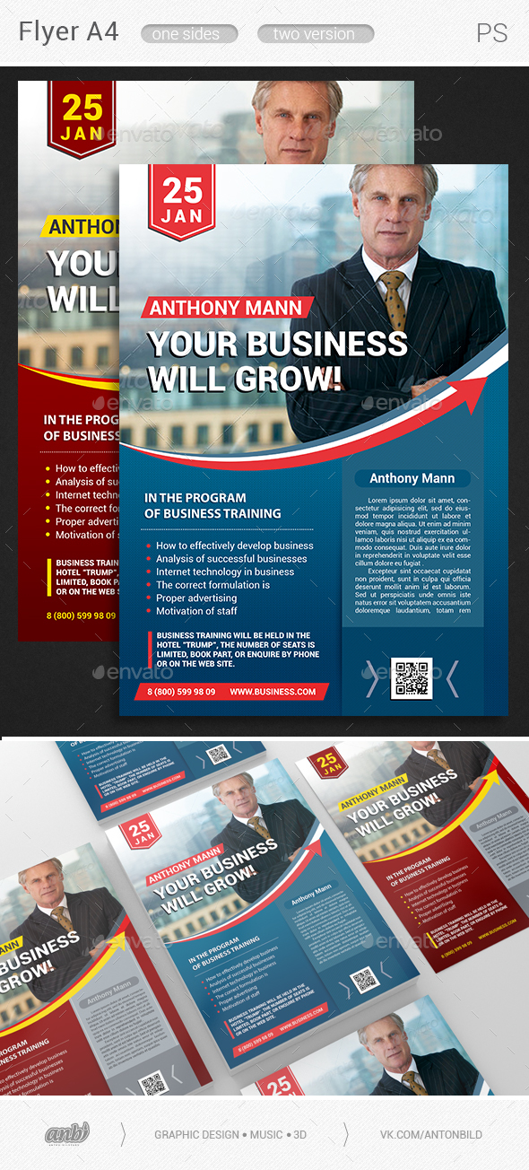 Your Business Will Grow - Corporate Flyers