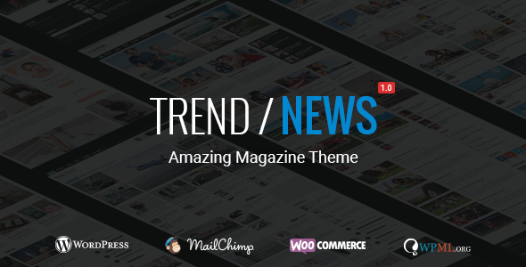 Trend / News – Responsive Magazine Theme