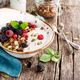Delicious granola with blackberry - PhotoDune Item for Sale