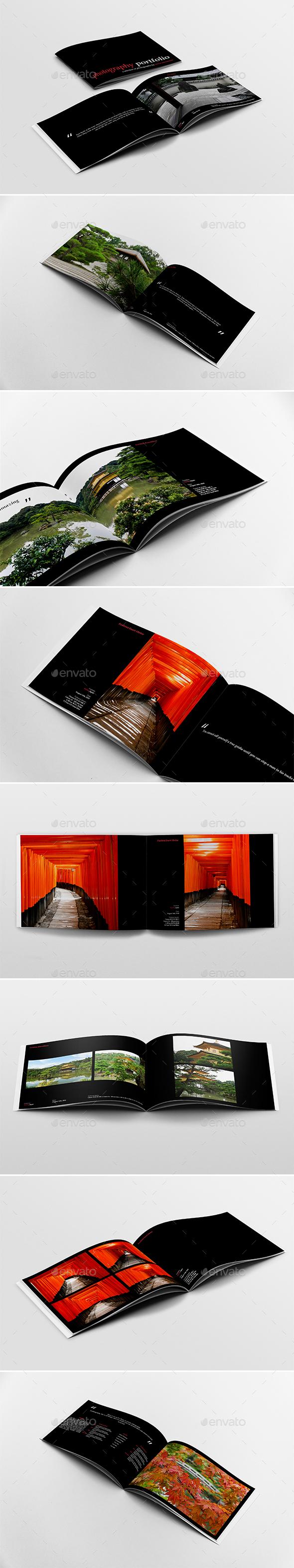 A4 Photography Portfolio - Portfolio Brochures