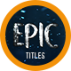 Epic Trailer Titles 6 - VideoHive Item for Sale