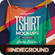 Studio T-shirt Mockups - GraphicRiver Item for Sale