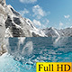 Gliding On The Ice Lake - VideoHive Item for Sale
