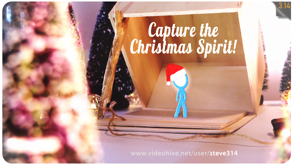 Capture the Christmas Spirit | Christmas Card Animation