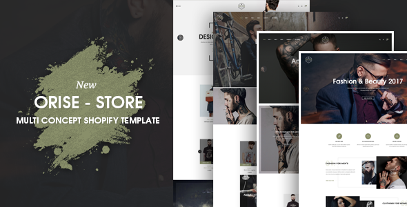 Orise Multi Concept Shopify Theme - Fashion Shopify