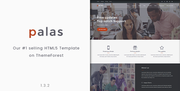 Palas - Bootstrap Multipurpose HTML5 Template - Business Corporate