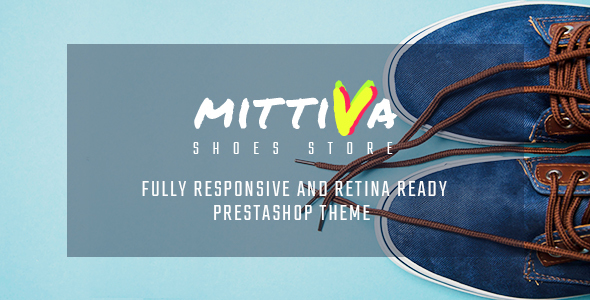 Mittiva - Shoes Store Responsive PrestaShop Theme - Fashion PrestaShop