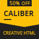 Caliber - Creative Multi Purpose HTML Template - ThemeForest Item for Sale