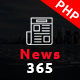 News365 – PHP Newspaper Script Magazine Blog with Video Newspaper
