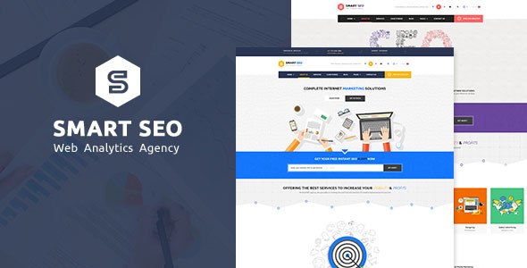 SMART SEO   Modern SEO & Marketing WordPress Theme
