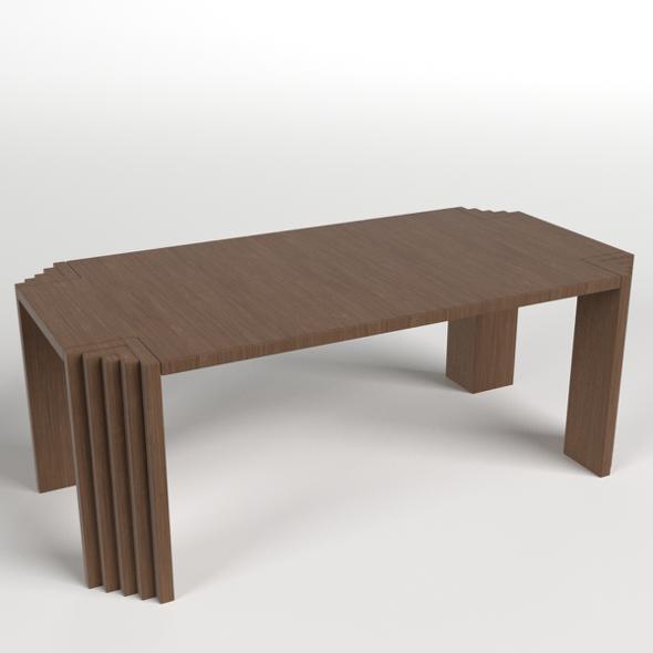Table, Desk 8 - 3DOcean Item for Sale