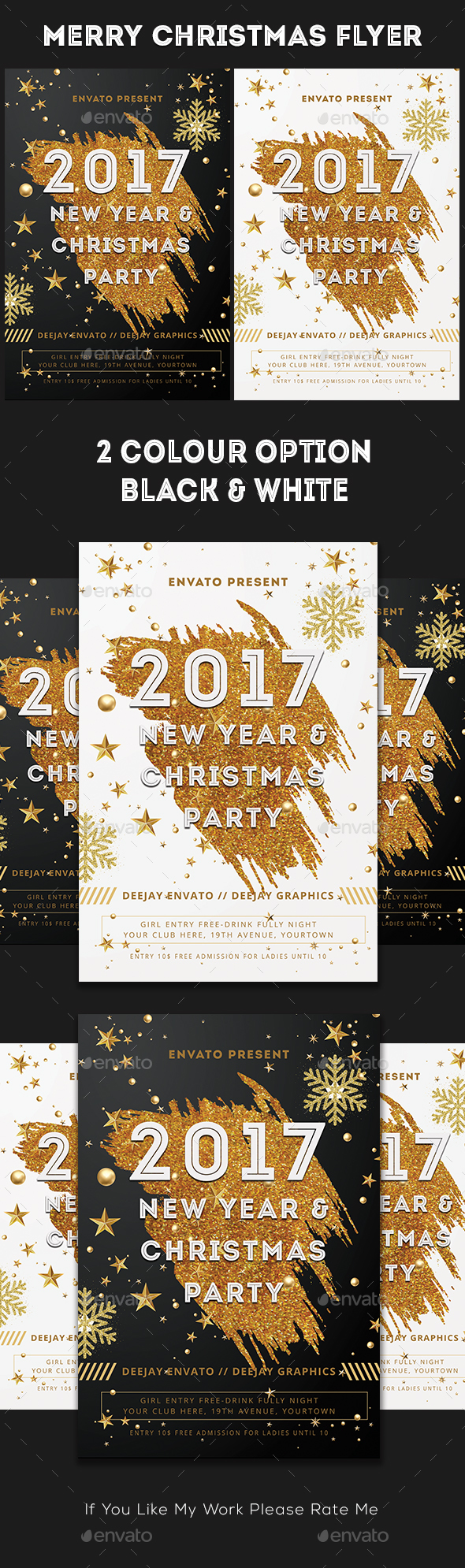 Christmas & New Year Flyer - Holidays Events