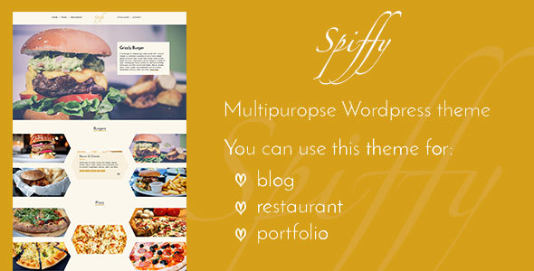 Spiffy – Stylish WordPress Theme