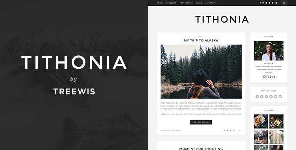 Tithonia - WordPress Blog Theme