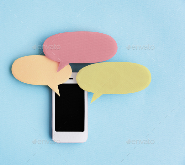 Telecommunication Digital Device Networking Concept - Stock Photo - Images