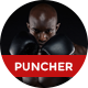 Puncher -  Multipurpose Fight & Boxing PSD Template Nulled