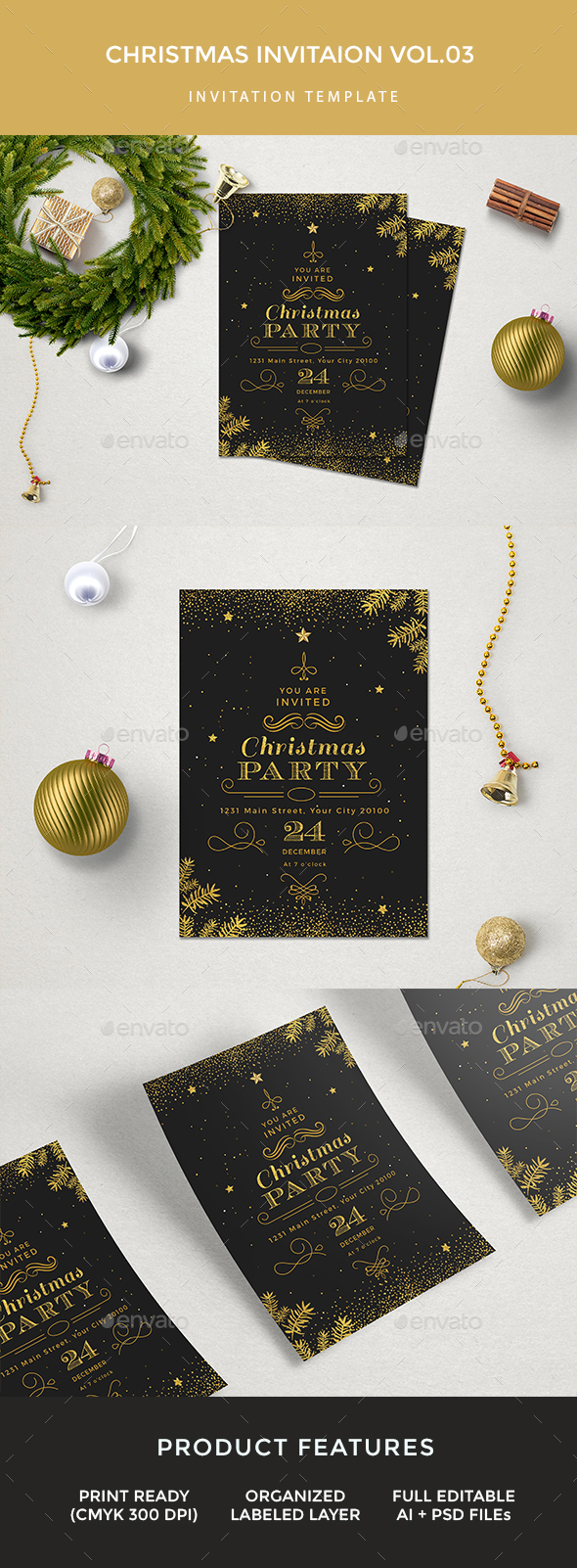 Christmas Invitation - Events Flyers
