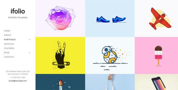iFolio – Creative Portfolio Template
