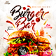 Burger Bar Menu - GraphicRiver Item for Sale